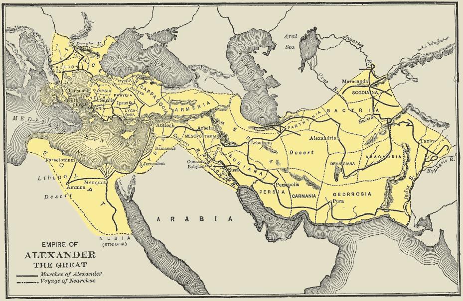 Los Diadocos o Antígono contra Eumenes