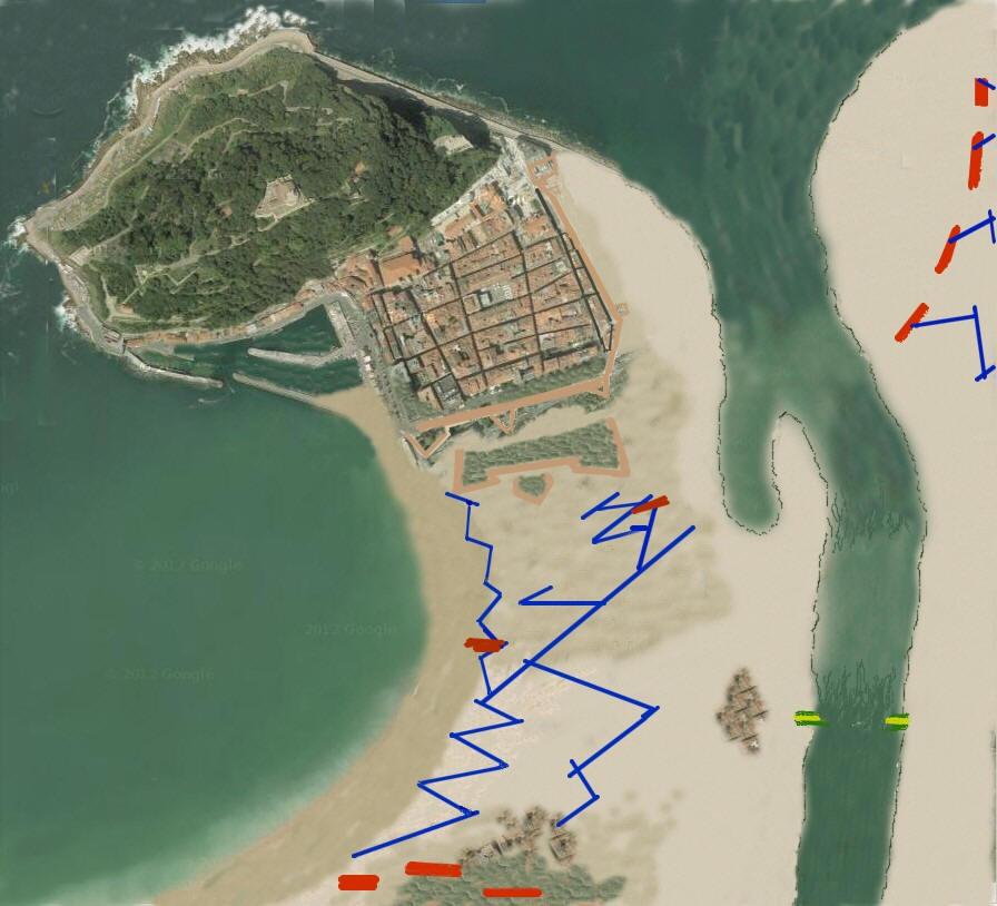 Las derrotas de Napoleón El sitio de San Sebastián 2
