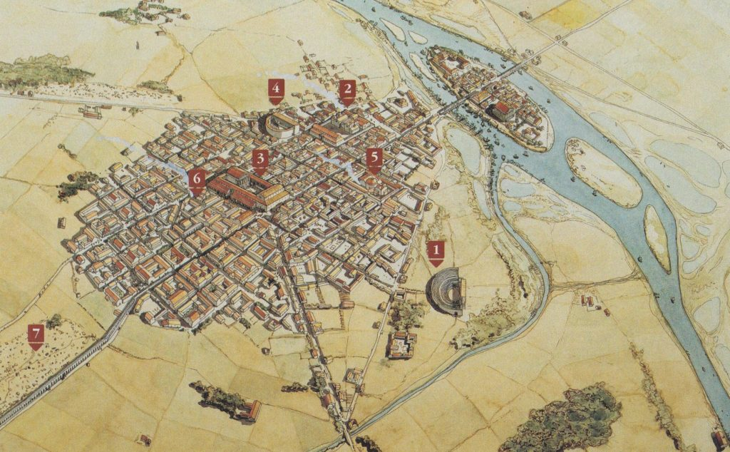 Lutecia (París romano). Lactancio y su objetividad.