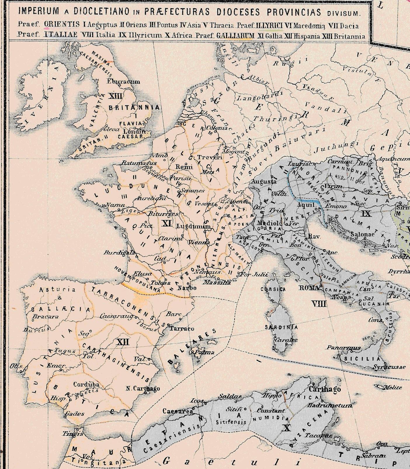 ¿Dónde estaba el Gólgota? Las dos Prefecturas occidentales de la Tetrarquía.