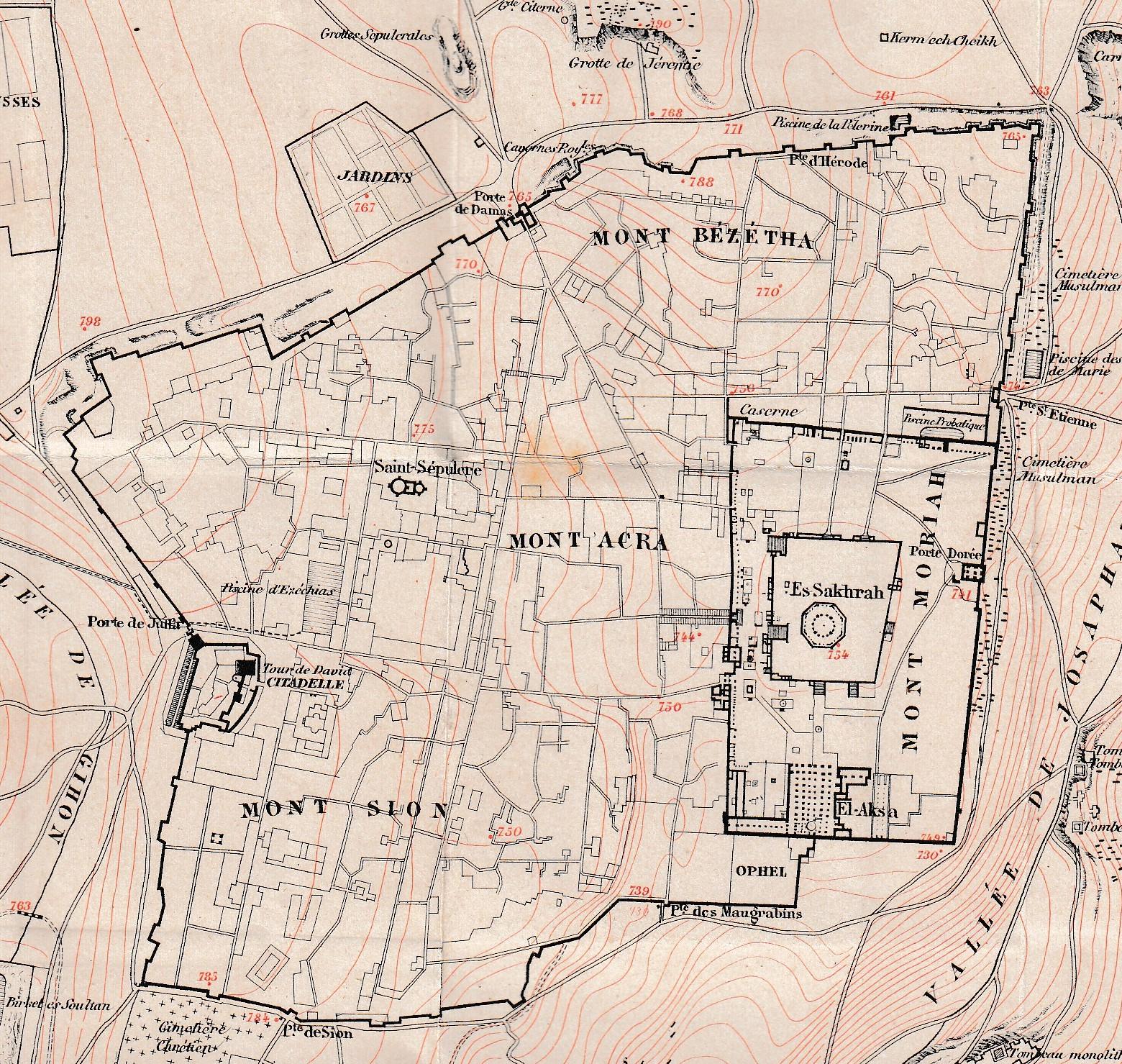 Suburbios en ciudades de la Antigüedad. Jerusalén romana.