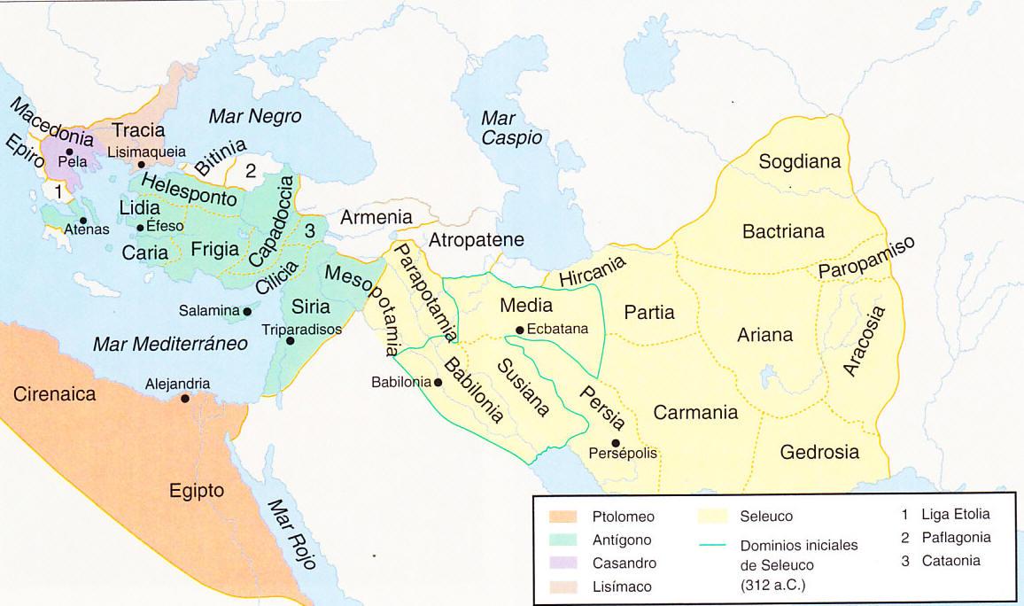 El autobombo real Mundo helenístico 58