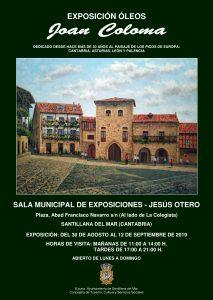 Exposicion de Joan Coloma en Santillana del Mar