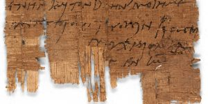 Tertulia sobre un papiro de la Universidad de Basilea