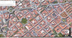 La Pamplona más claramente hipodámica