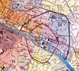 Murallas y Boulevards en París