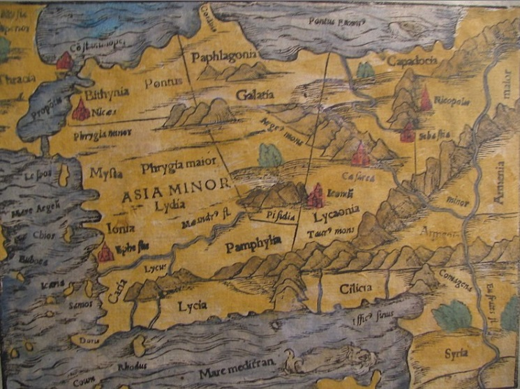 Anatolia Asia Menor hoy Turquía