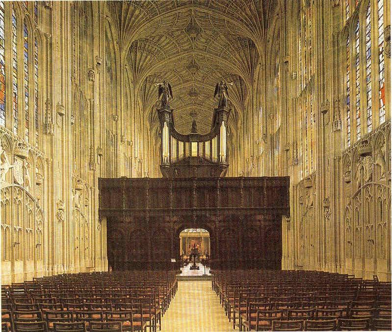 Techos góticos en Francia e Inglaterra La Pintura 114