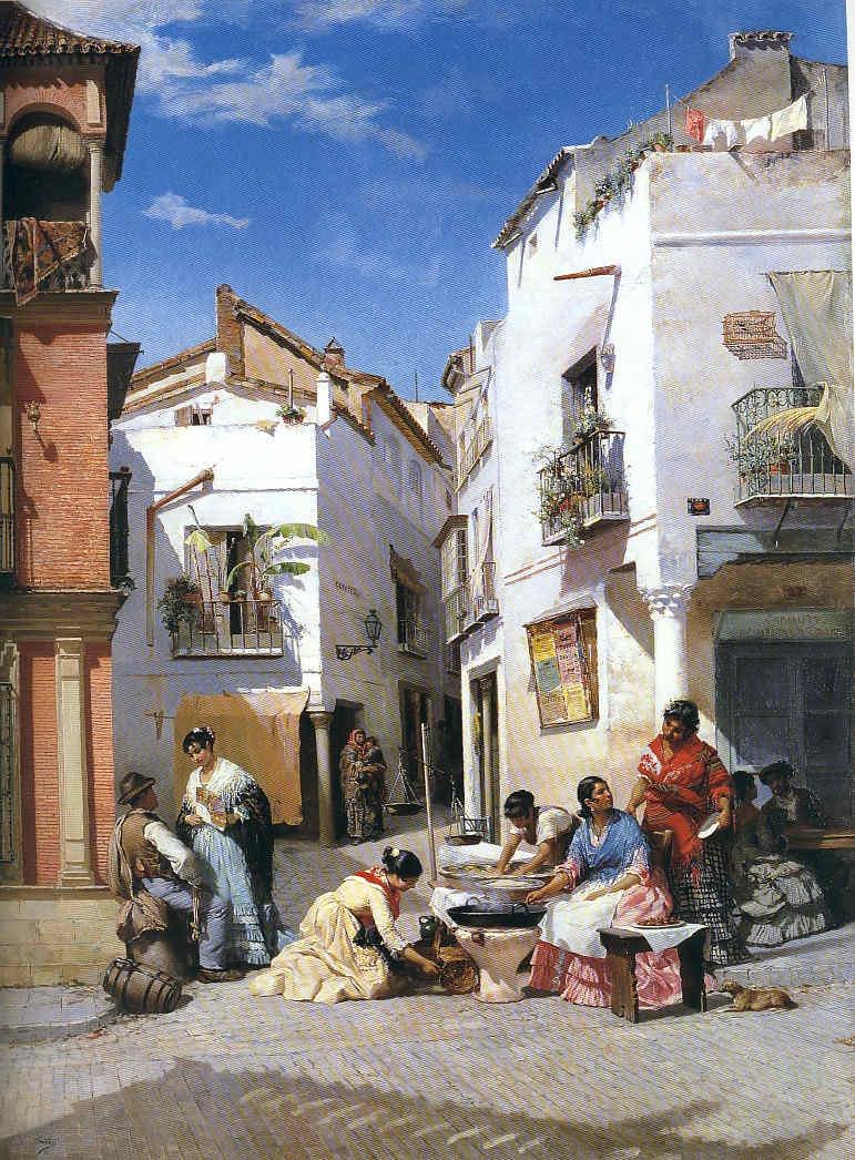 Wssel de Guimbarda Pintor costumbrista clásico 4 La Pintura 159