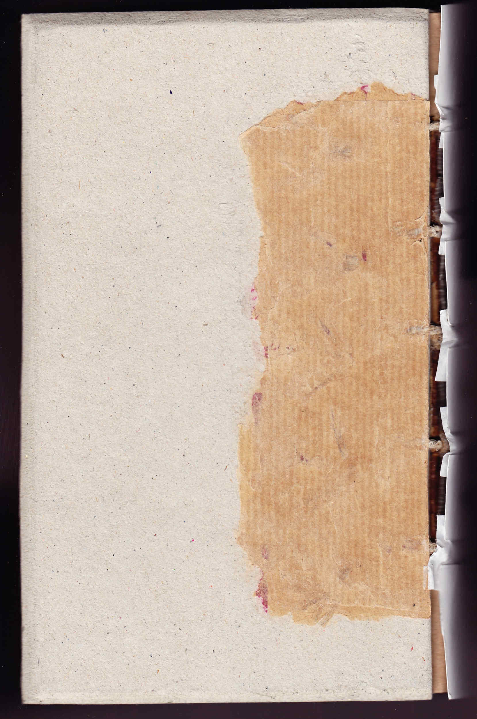 Restauración de libro antiguo Amiano Marcelino y los soportes
