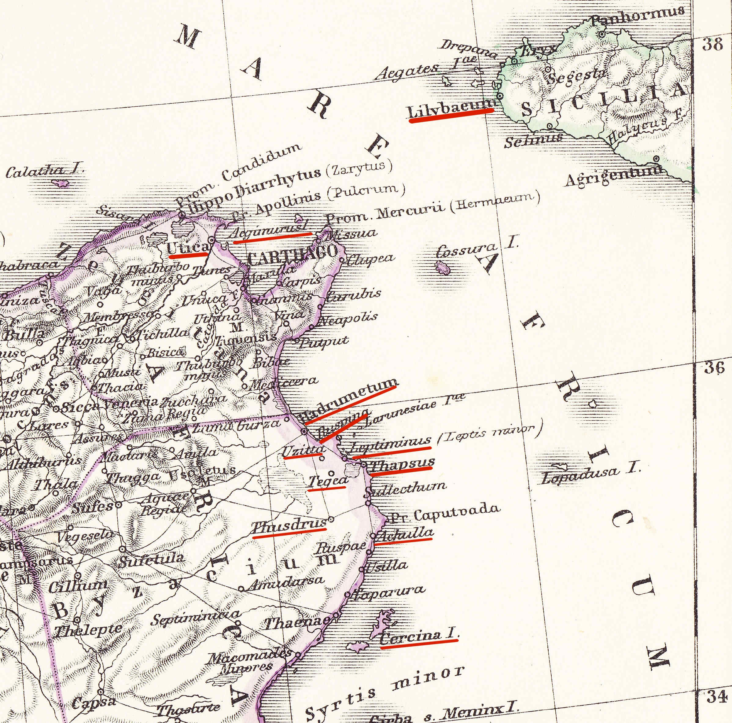 Egipto Antiguo 136 César en Africa contra Escipión Uzita