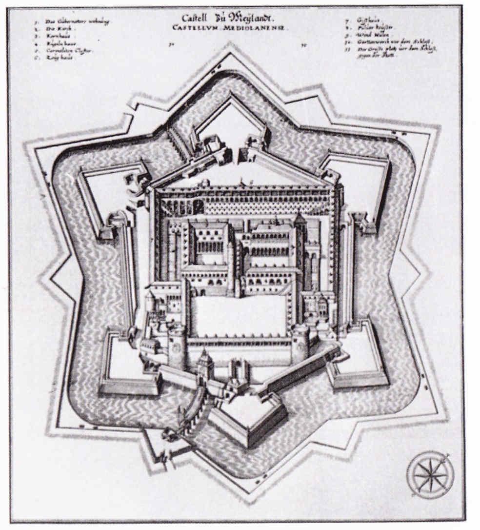 Las murallas de Pamplona hasta 1635