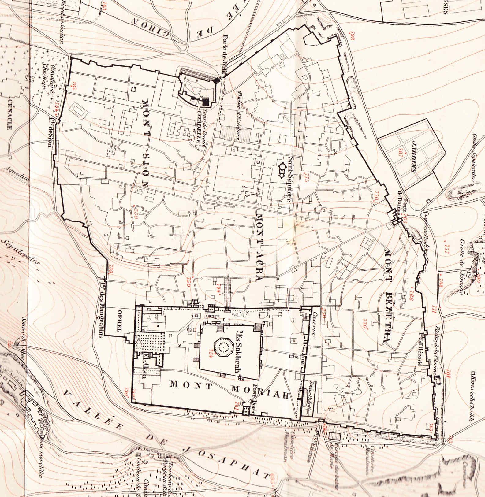 Grabados insignes de Jerusalem en 1800 Mundo helenístico 47