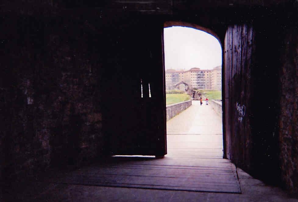 La Ciudadela de Pamplona desde fuera