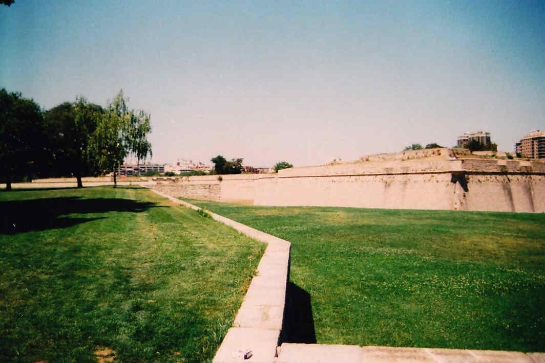 Paseo por las murallas de Pamplona La Ciudadela