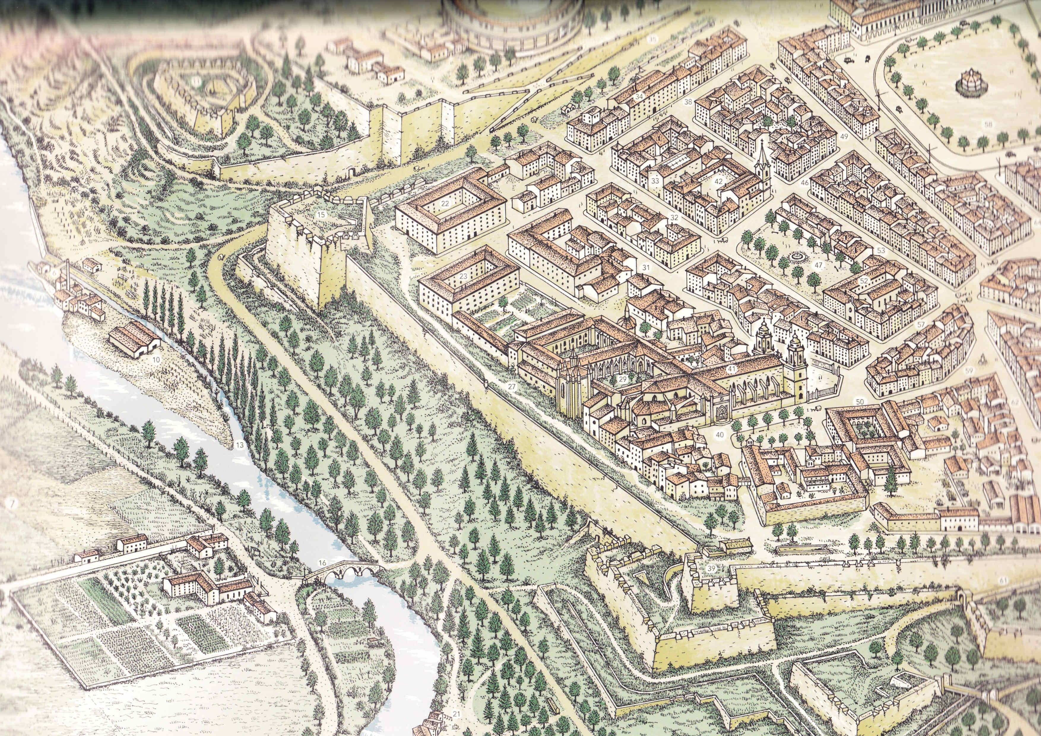 Pamplona en 1920 El Frente Este