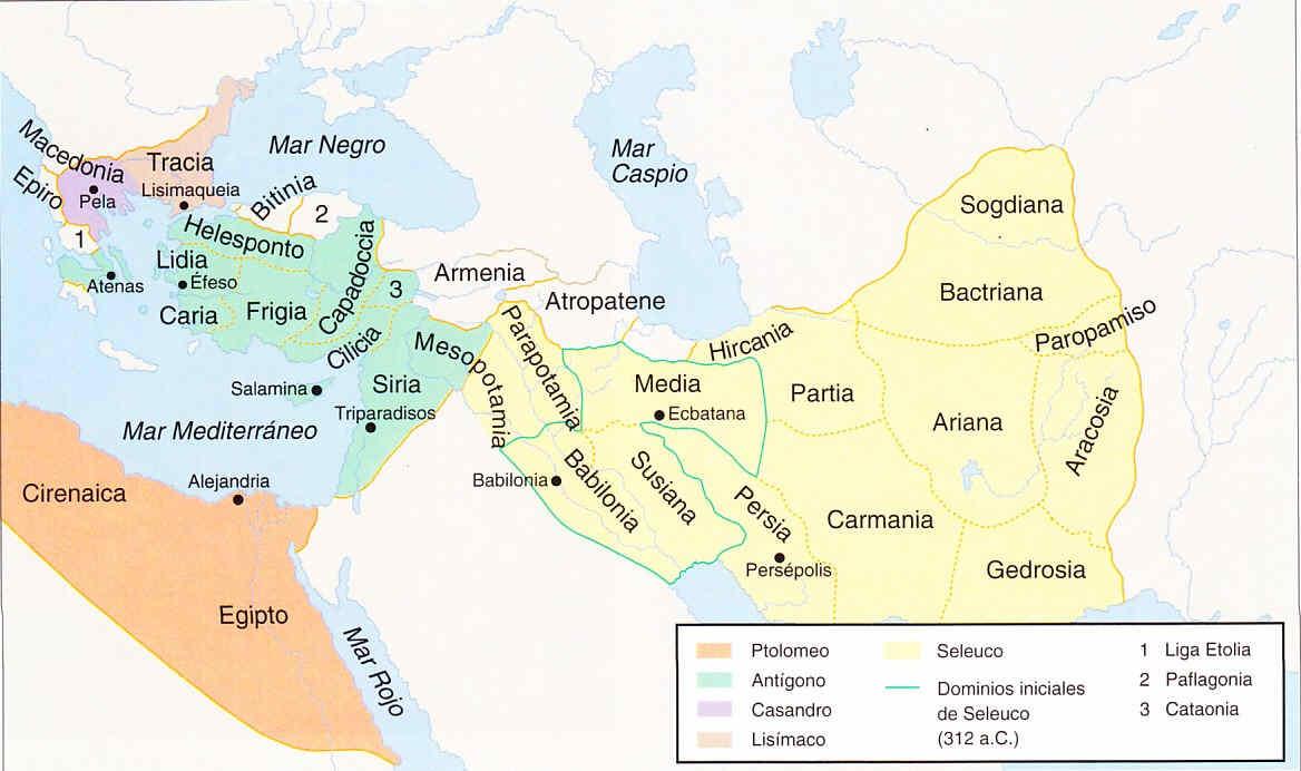 El Imperio Seleúcida 6 bajo Seleúco II Kalínico 2