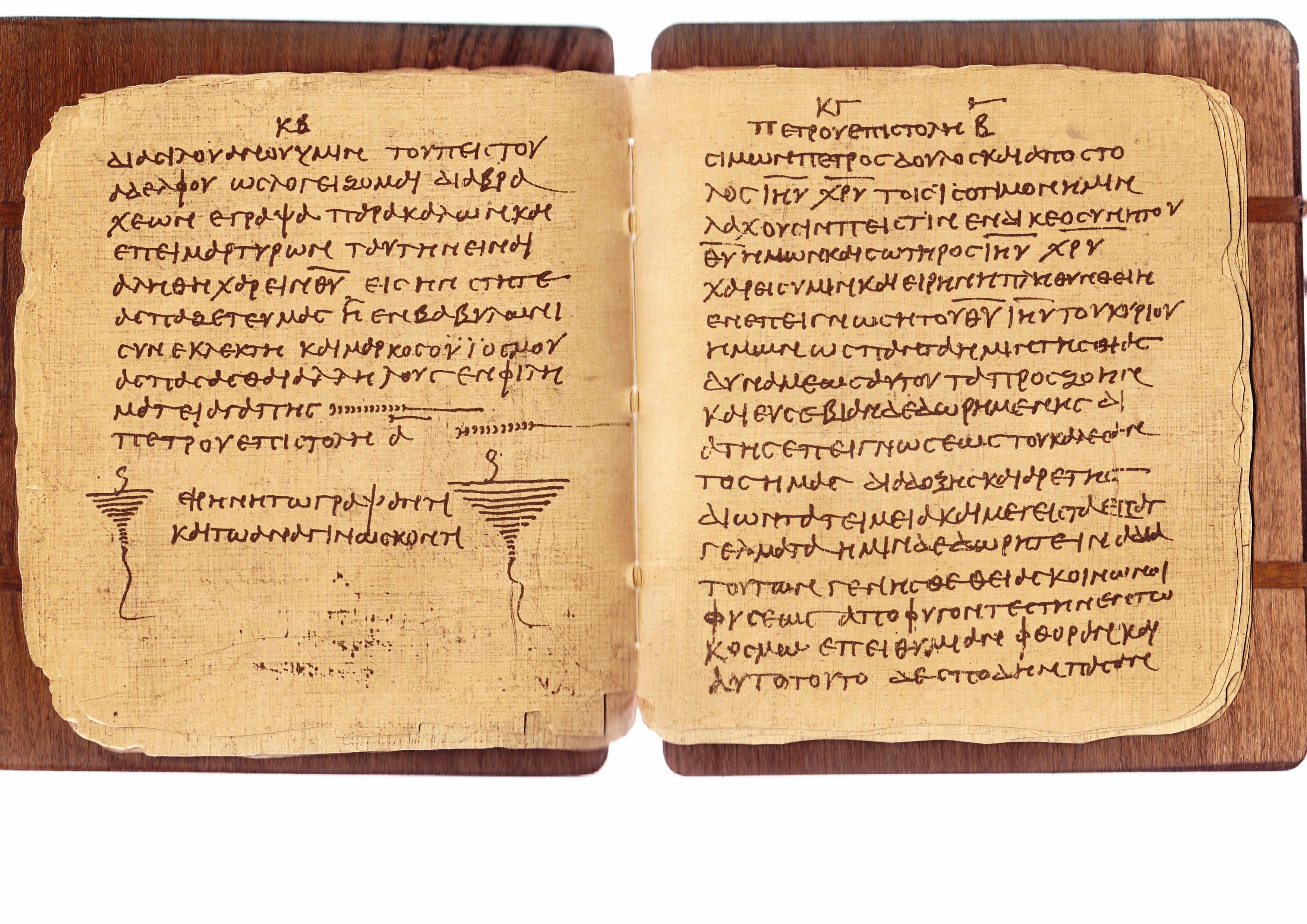 Carbono 14 a un papiro Bodmer