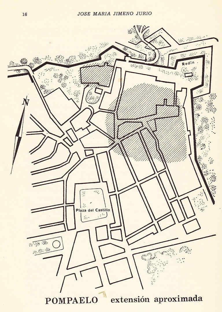 Las murallas de Pamplona hasta 1400