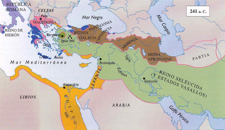 Tercera y Cuarta Guerras de los Diadocos 8