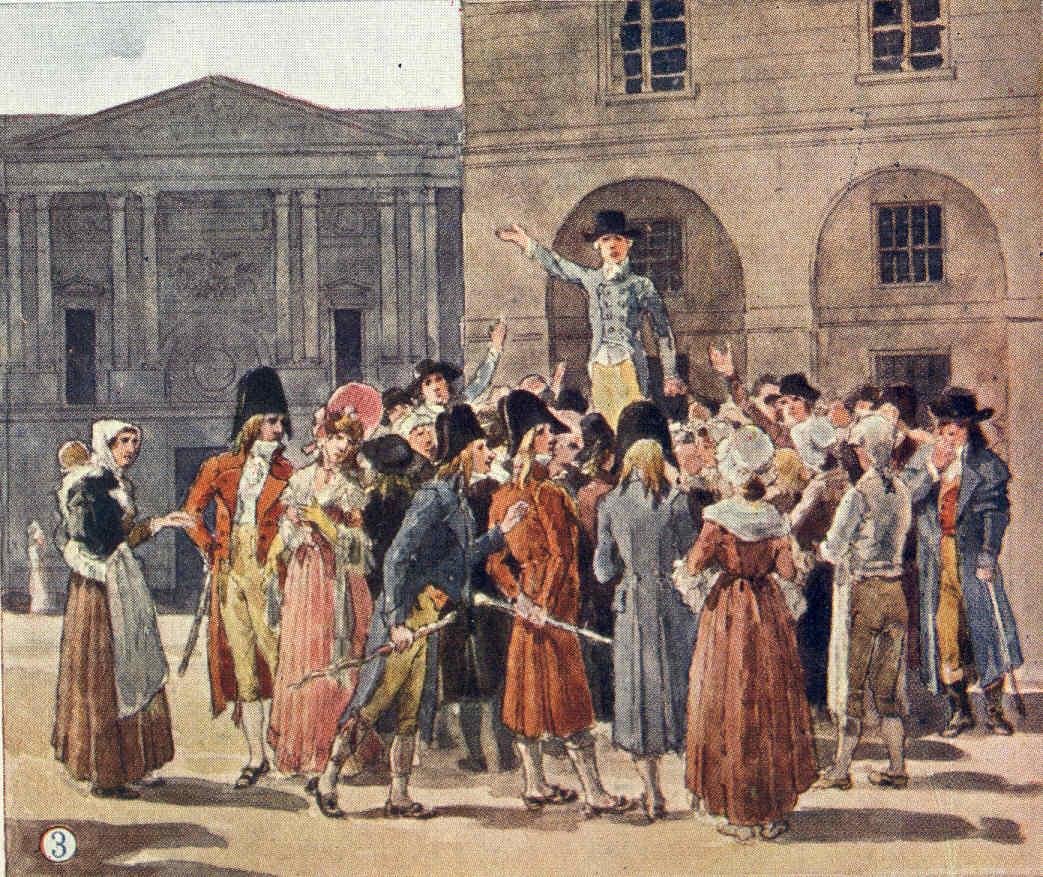 París 48 Robespierre ejecutado Nueva Constitución Comuna de París Josefina