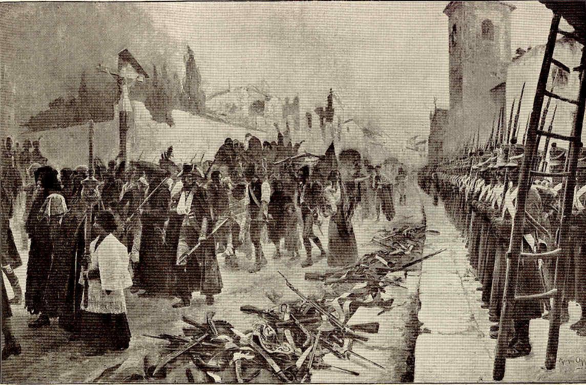 París 54 Napoleón en España Zaragoza Palafox Pío VII