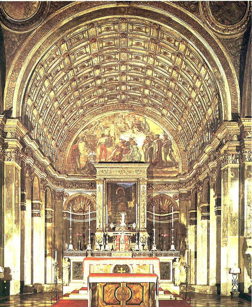 Villas italianas del Renacimiento Techos 5 La Pintura 117