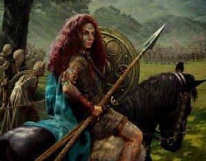 Egipto Antiguo 138 Derrota de Budica por dos Legiones romanas