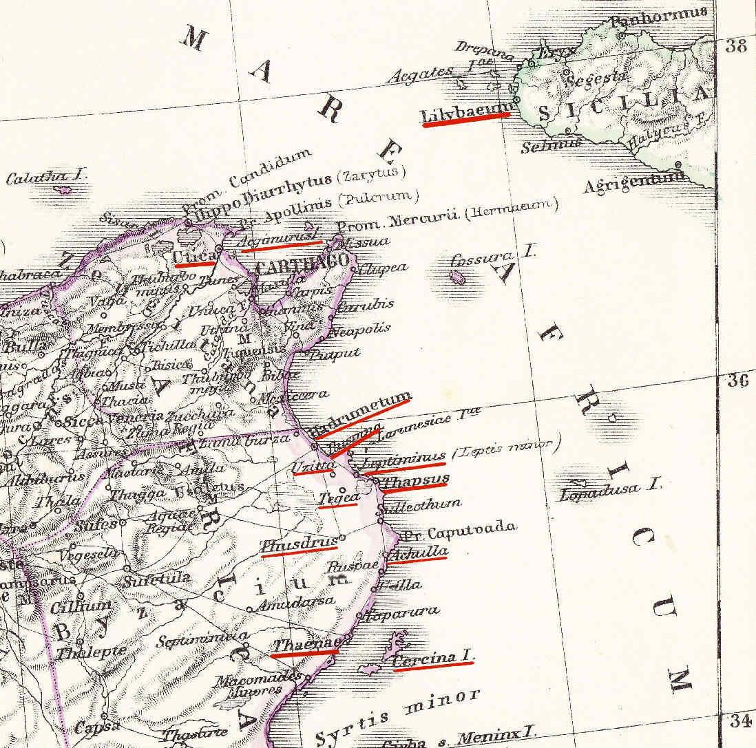 Egipto Antiguo 156 Escaramuzas ante Tegea