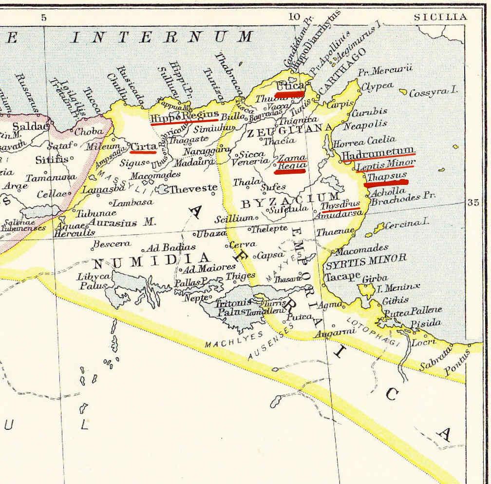 Egipto Antiguo 165 Saldo de las operaciones en África
