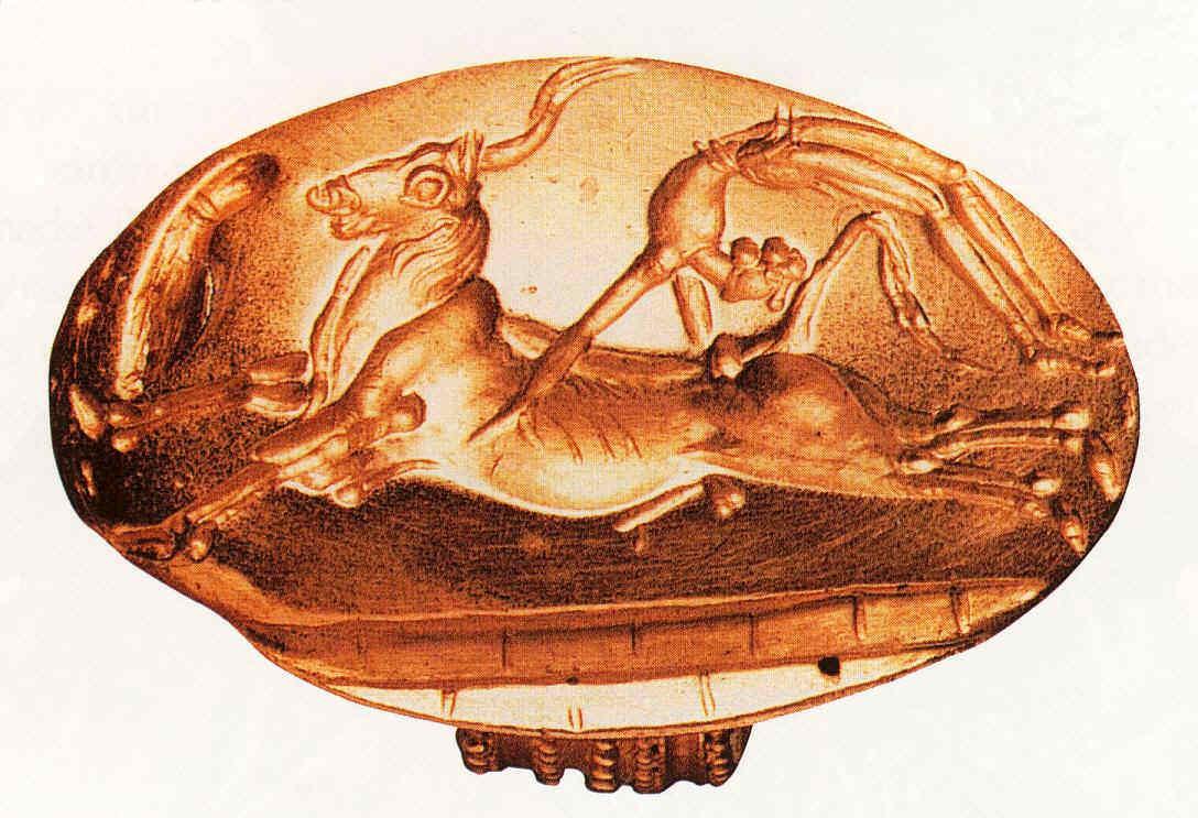 Toros y ritones Civilización minoica en Grecia clásica 6