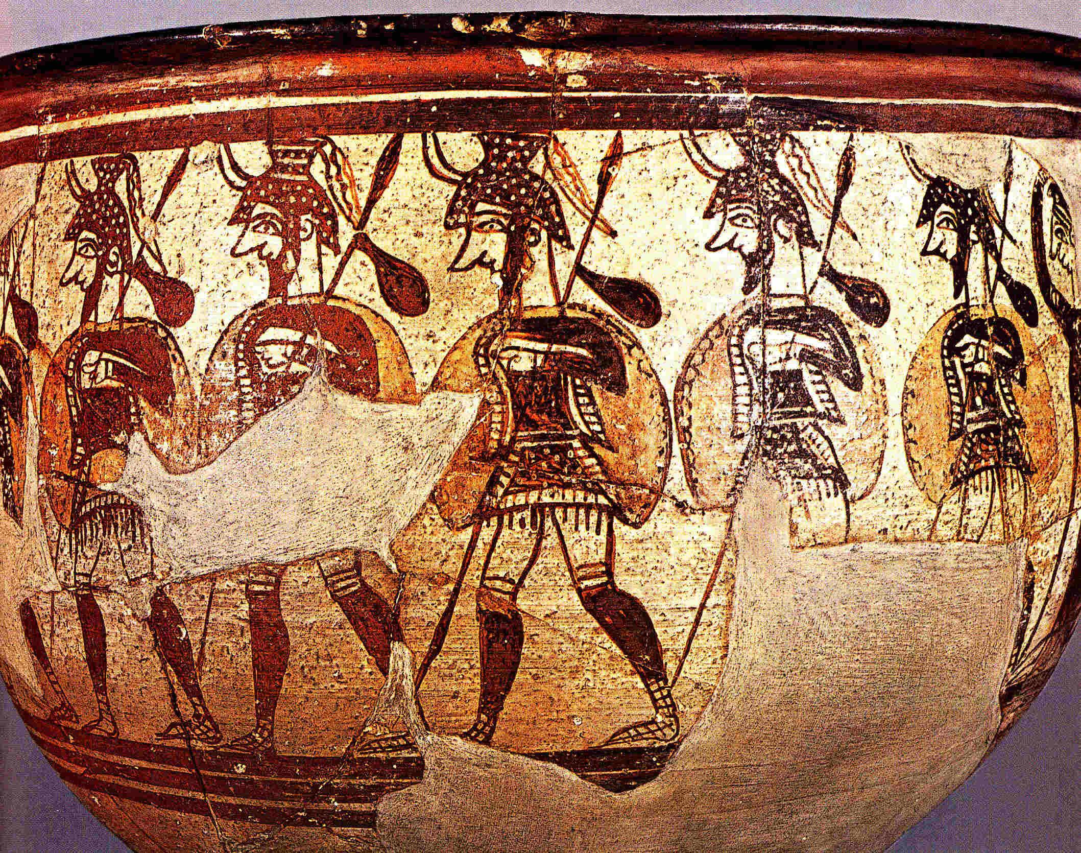 Objetos lujosos de Micenas en Grecia clásica 12