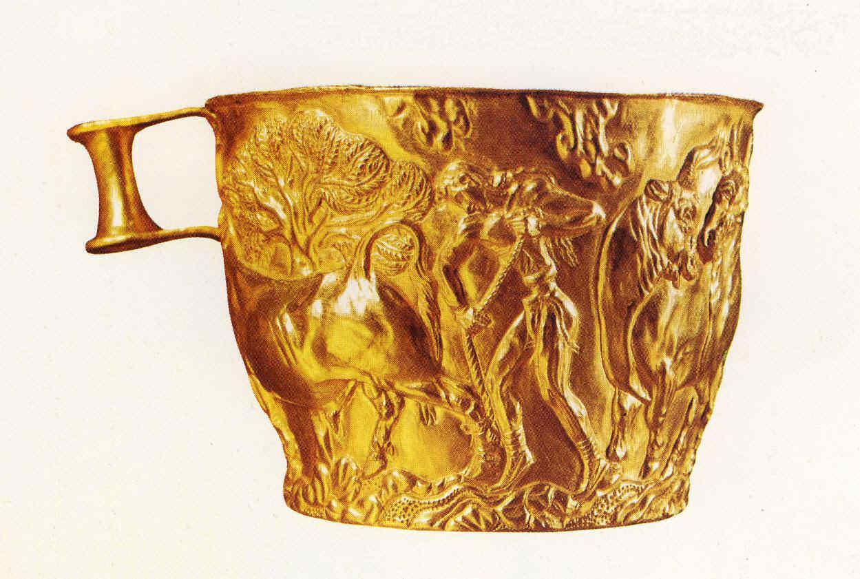 Ánforas y escritura Micenas en Grecia clásica 13