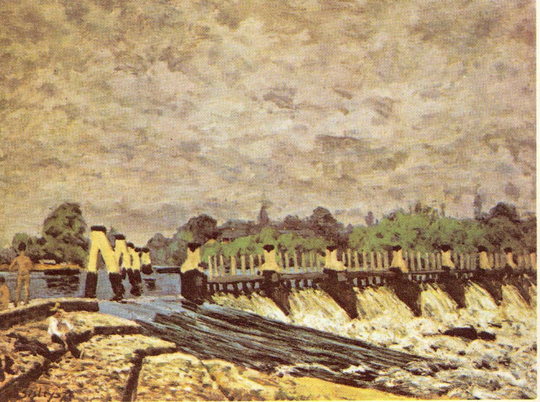 Alfred Sisley La Pintura 79 El Impresionismo 25