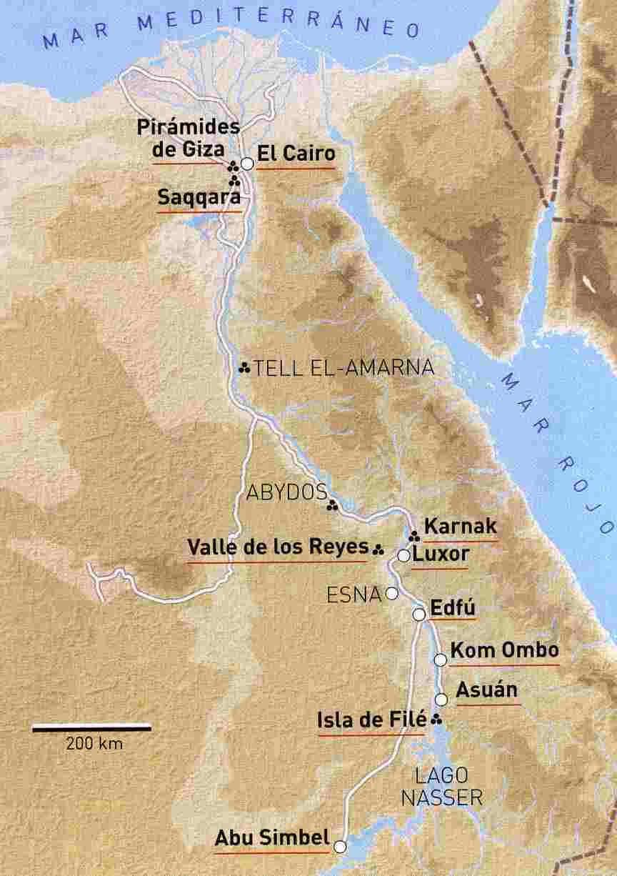 Templos ptolemaicos a Edfu