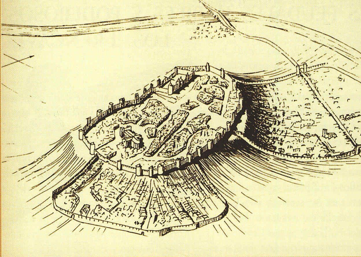 Carcassonne y los dos burgos