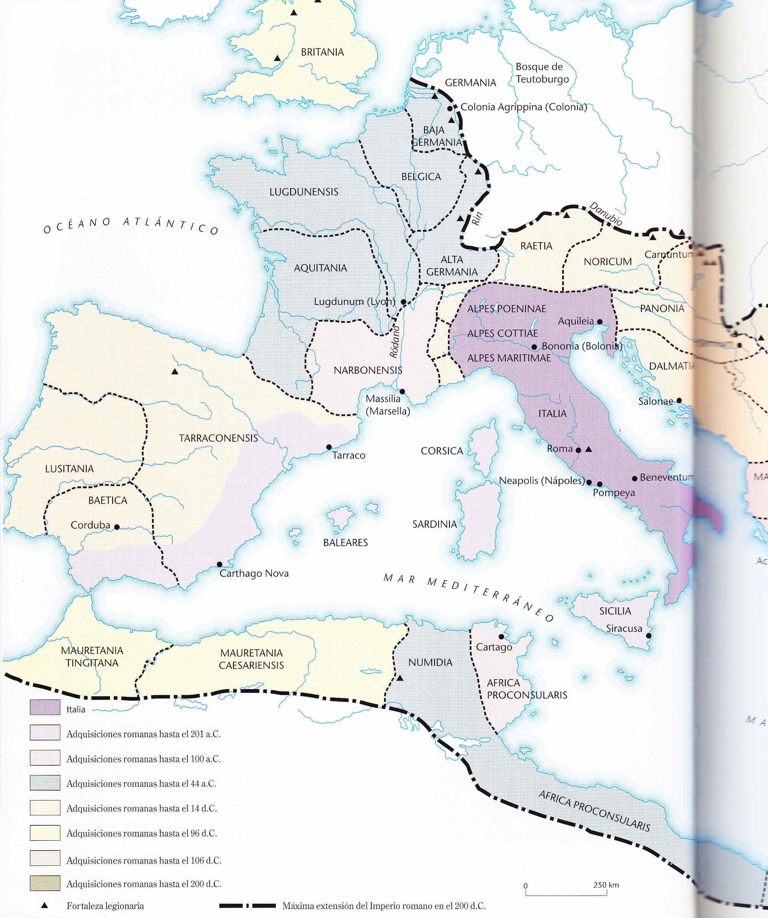 Egipto Antiguo 166 Camino de Roma ambos
