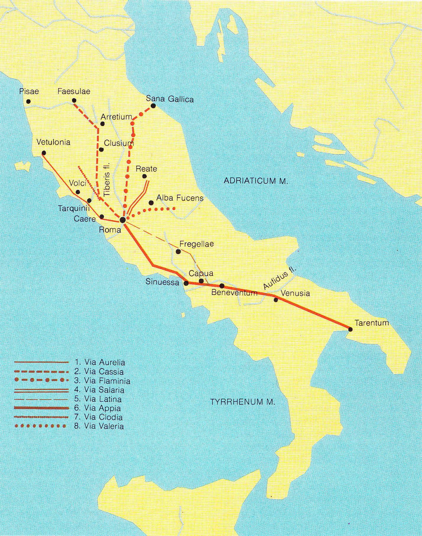 Egipto Antiguo 167 Cavilando en Roma sobre el futuro