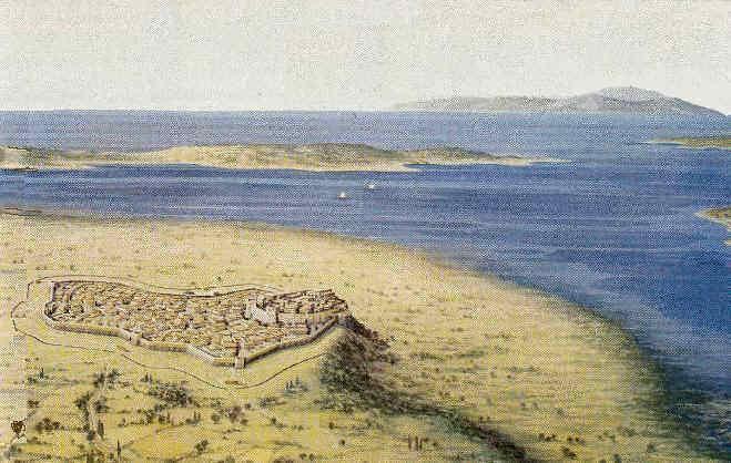 Las murallas de Troya VI en Grecia clásica 19