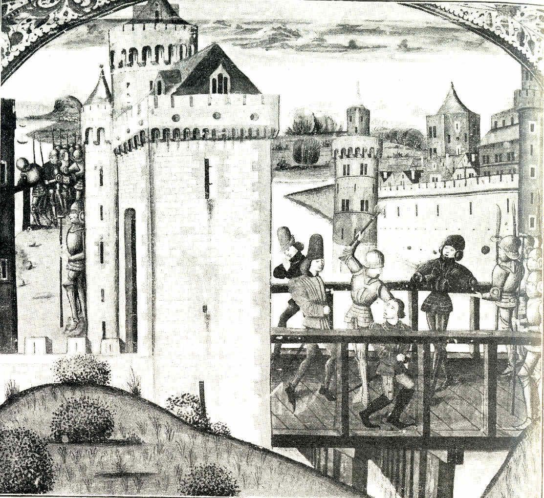El nacimiento de París 13 Guerra civil Batalla de Azincourt