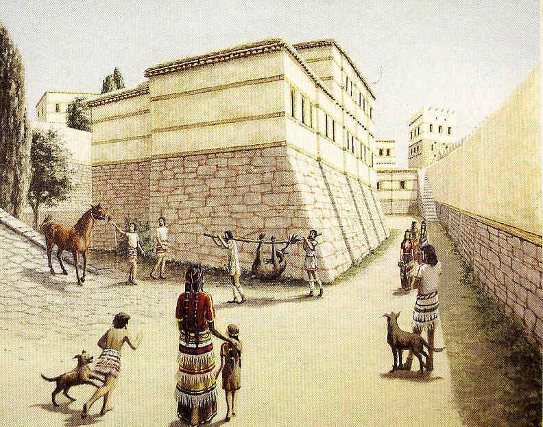 Dentro de Troya VI en Grecia clásica 18