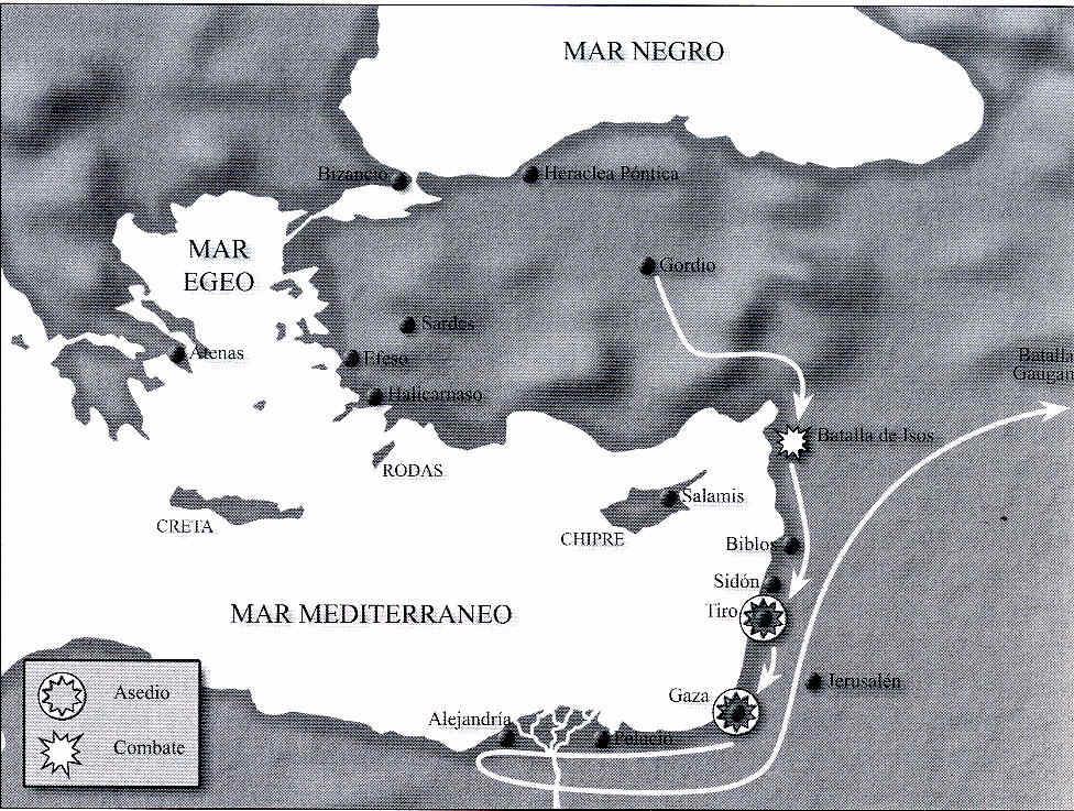 Alejandro y la rebelde Tiro