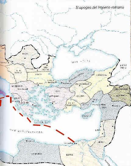 Egipto Antiguo 168 Llegada de Cleopatra VII a Roma