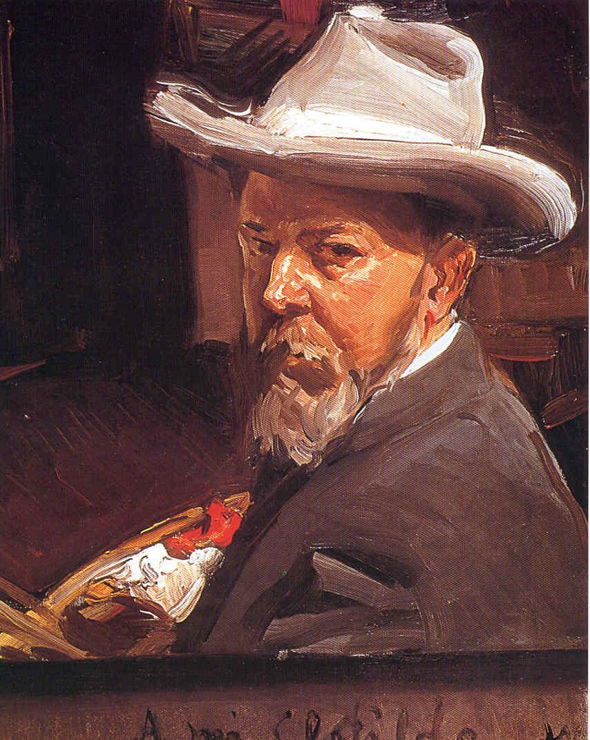 Joaquín Sorolla y sus últimos cuadros La Pintura 104