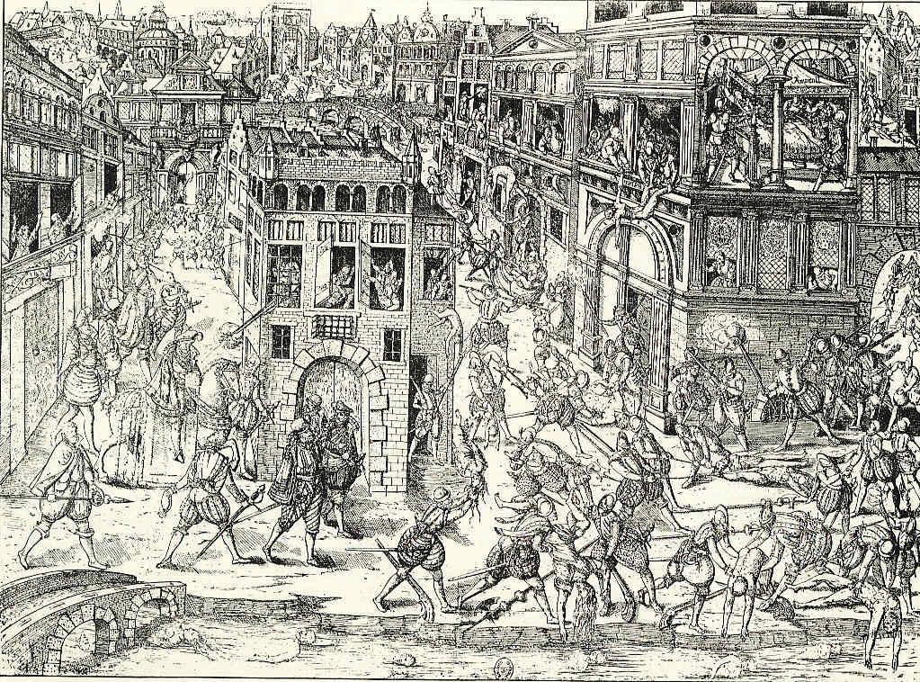París 25 Carlos IX y San Bartolomé Enrique III