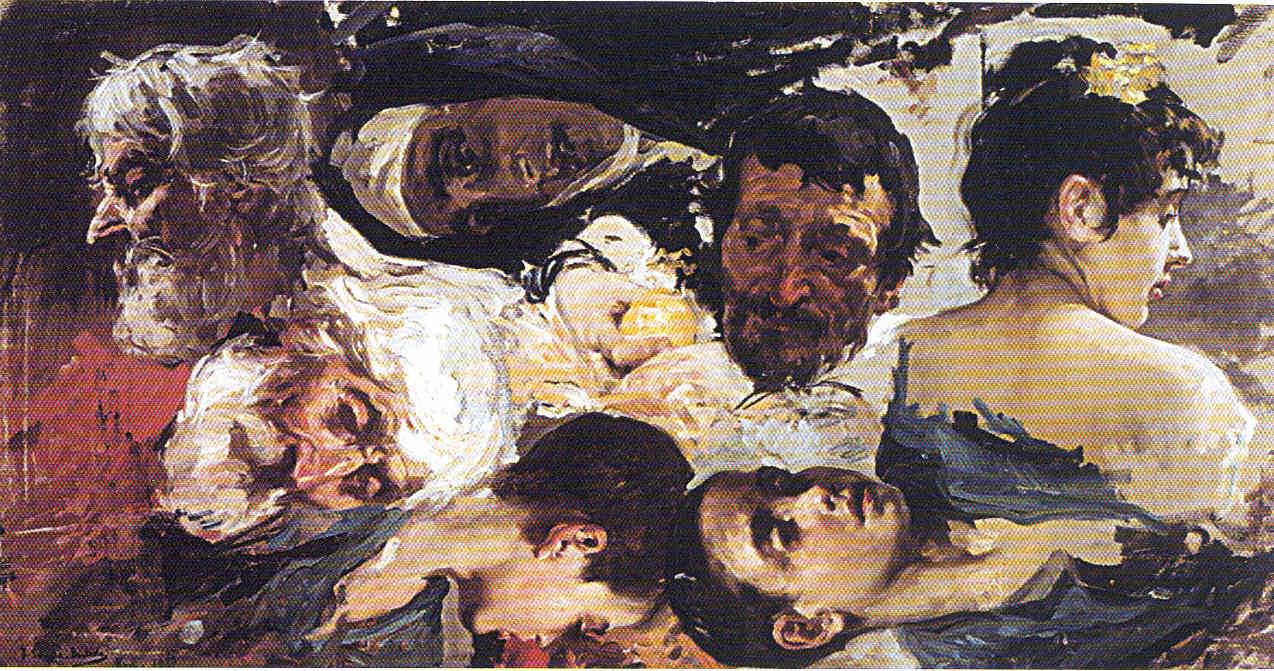 Joaquín Sorolla hasta 1893 Primeros frutos La Pintura 94