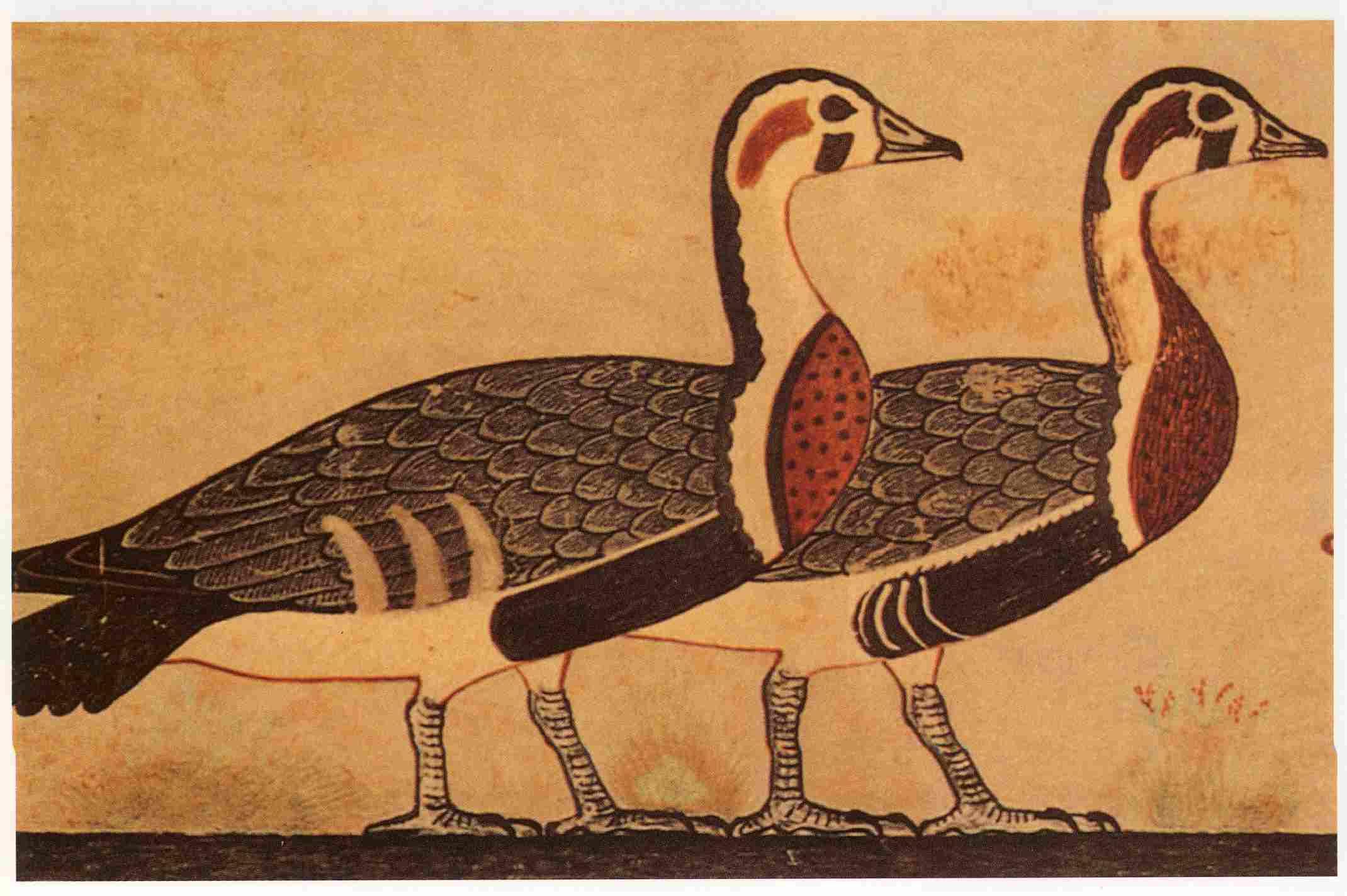 Pintura egipcia 2 Cambios
