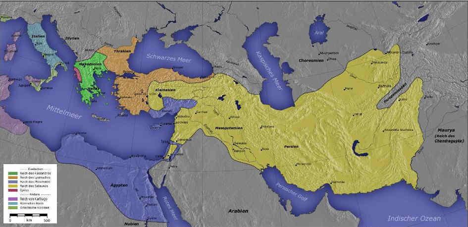 Egipto antiguo 10 y Ptolomeo Keraunios 2