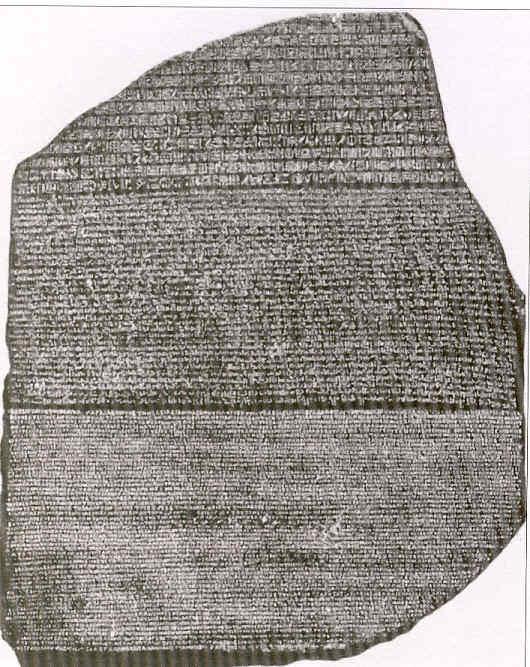 Young y la piedra Rosetta