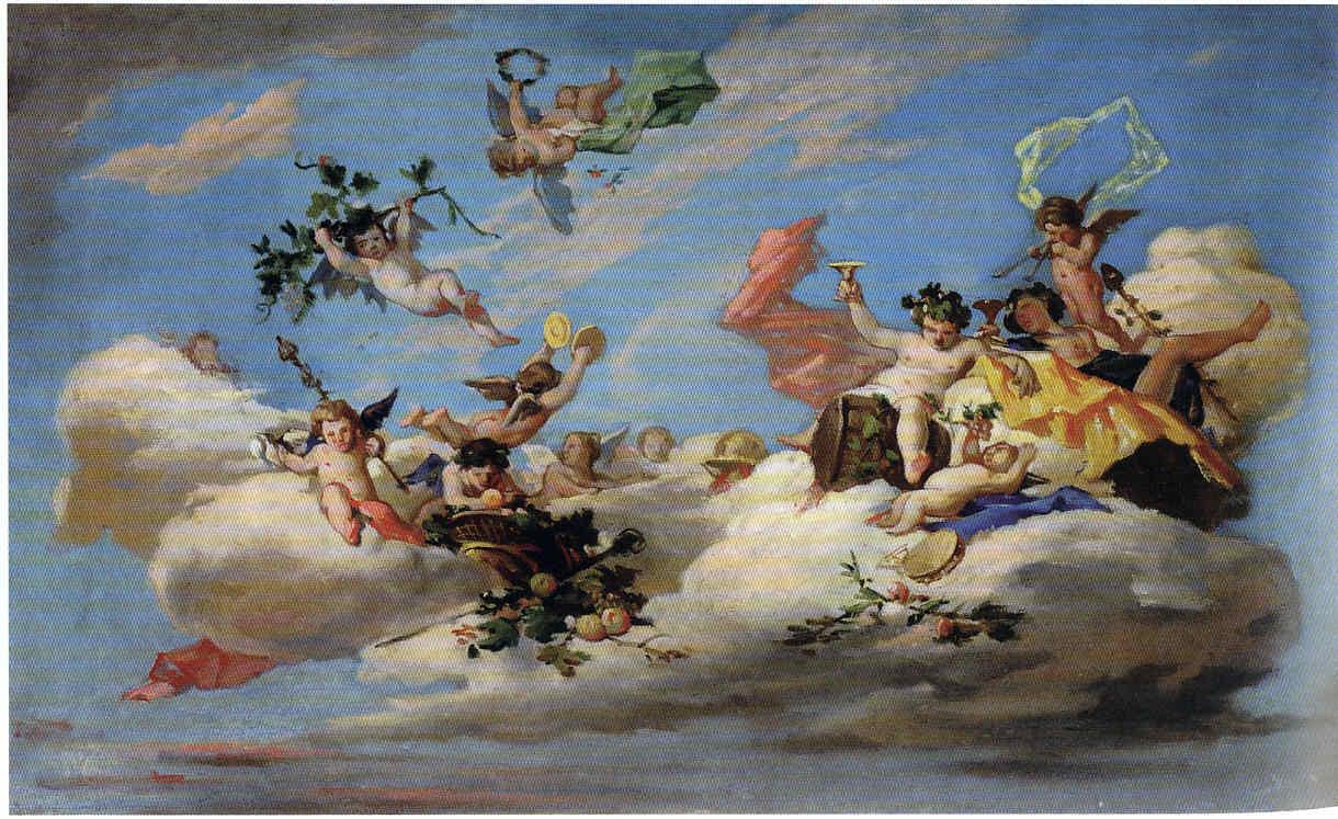 Wssel de Guimbarda y los techos 7 La Pintura 162